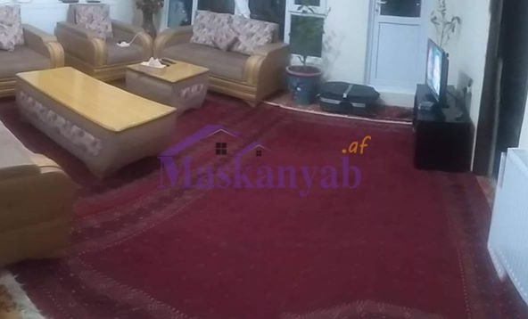 Apartment with Full Equipment for SaleMortgage in Omid-e-Sabz Town, Kabul