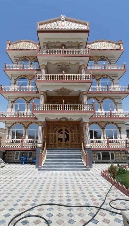 Five-Storey House for Sale at Khalid bin Walid Town, Balkh