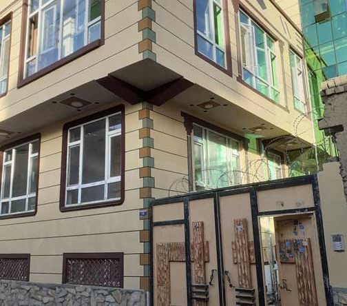 Three-Storey-Concreted-House-for-Sale-at-Dasht-e-Barchi,-Kabul-