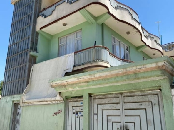 Three-Storey House for Sale at Shaheed Mazari Road, Kabul
