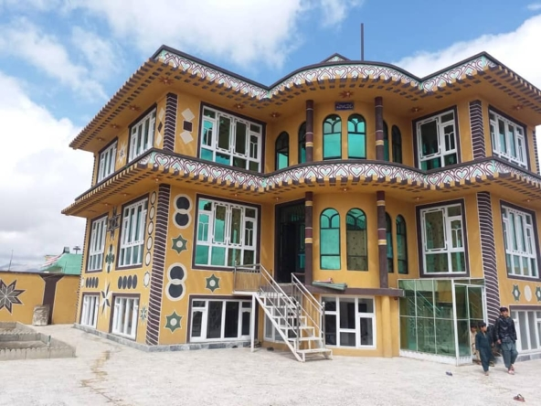 Newly three-storey house for sale in Ghazni