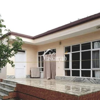 House with Modern Construction for Sale