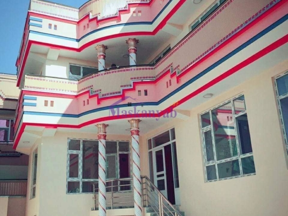 Four-Story New House in Dogh Abad, District 7, Kabul