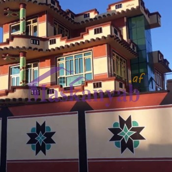 Three-Story House for Sale in Pashtun Abad, Ghazni