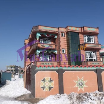 Three-Story Luxury House for Sale in Ghazni
