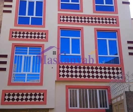 Three-Story Concreted House for Sale in Herat
