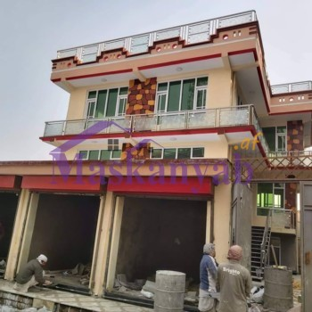 Three-Story Modern House for Sale in District 7, Kabul