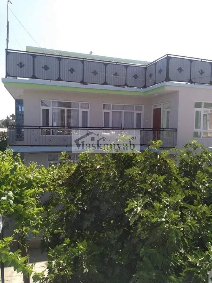 Three-Storey Modern House for Sale at Taimani Square, Kabul.