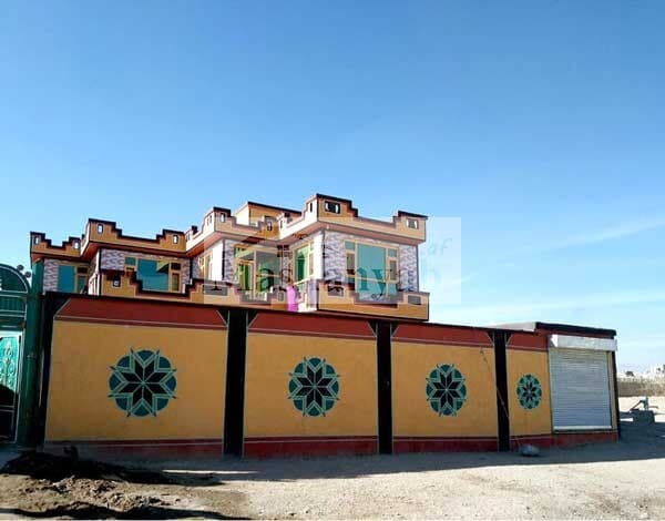 Large-two-story-house-for-sale-in-Ghazni-Province