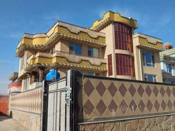 New-House-for-sale-in-Dasht-e-Barchi,-Kabul