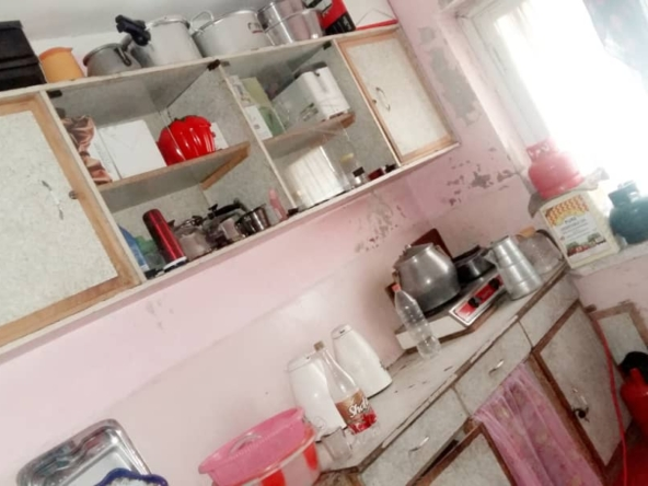 Three-room Apartment for a mortgage in district 15 Kabul